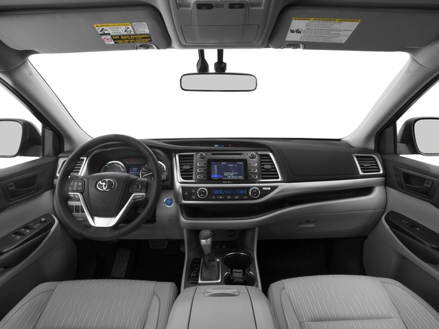 2016 Toyota Highlander Hybrid Prices and Values Utility 4D Limited 4WD V6 Hybrid full dashboard