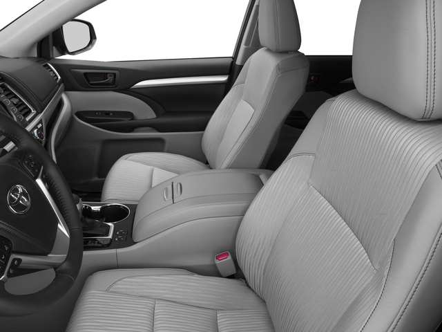 2016 Toyota Highlander Hybrid Prices and Values Utility 4D Limited 4WD V6 Hybrid front seat interior