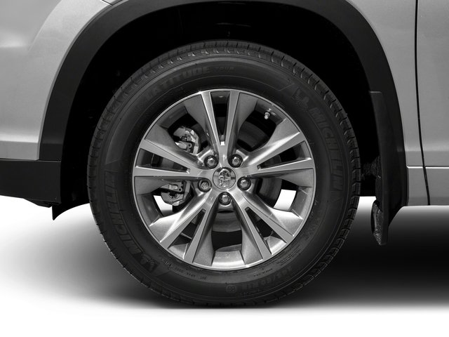 2016 Toyota Highlander Hybrid Prices and Values Utility 4D Limited 4WD V6 Hybrid wheel