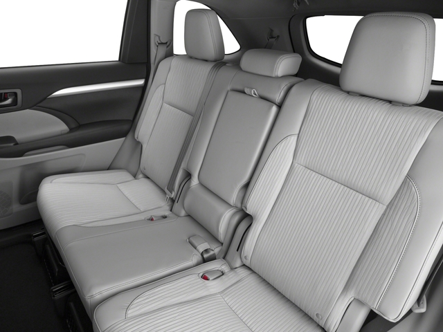 2016 Toyota Highlander Hybrid Prices and Values Utility 4D Limited 4WD V6 Hybrid backseat interior