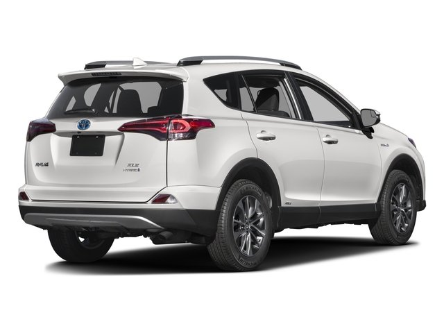 2016 Toyota RAV4 Hybrid Prices and Values Utility 4D XLE AWD I4 Hybrid side rear view