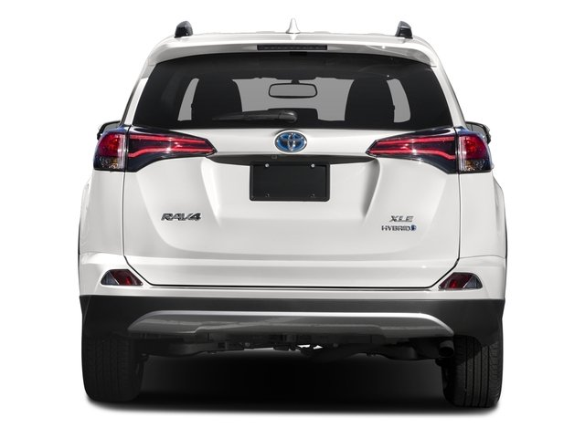 2016 Toyota RAV4 Hybrid Prices and Values Utility 4D XLE AWD I4 Hybrid rear view
