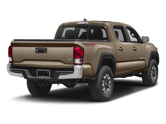 2016 Toyota Tacoma Prices and Values TRD Off-Road Crew Cab 4WD V6 side rear view