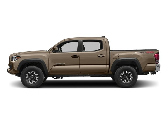 2016 Toyota Tacoma Prices and Values TRD Off-Road Crew Cab 4WD V6 side view