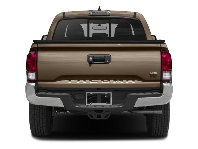 2016 Toyota Tacoma Prices and Values TRD Off-Road Crew Cab 4WD V6 rear view
