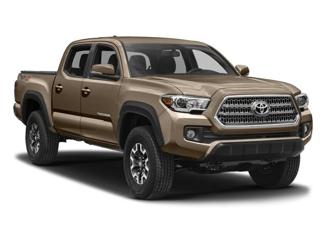 2016 Toyota Tacoma Prices and Values TRD Off-Road Crew Cab 4WD V6 side front view