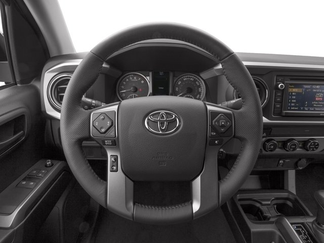 2016 Toyota Tacoma Prices and Values SR5 Extended Cab 4WD I4 driver's dashboard