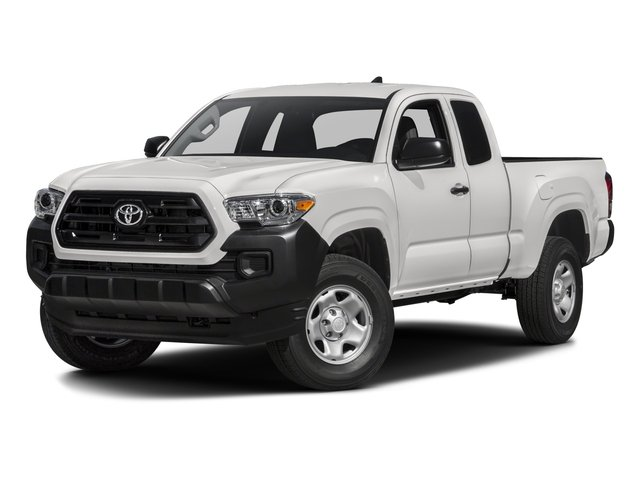 2016 Toyota Tacoma Prices and Values SR Extended Cab 2WD I4 side front view