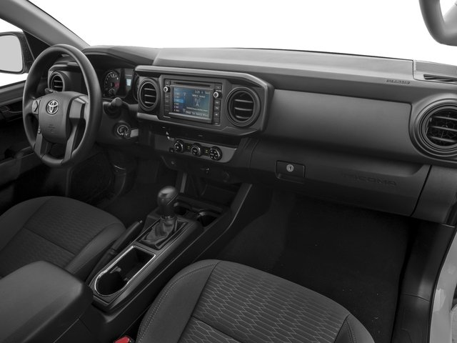 2016 Toyota Tacoma Prices and Values SR Extended Cab 2WD I4 passenger's dashboard