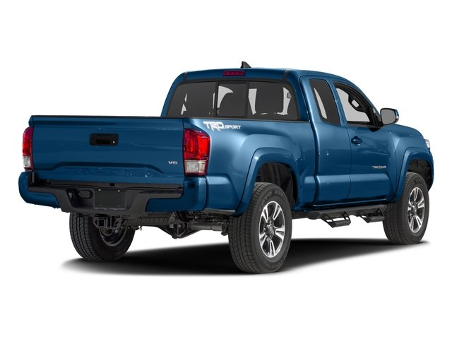 2016 Toyota Tacoma Prices and Values TRD Sport Extended Cab 2WD V6 side rear view