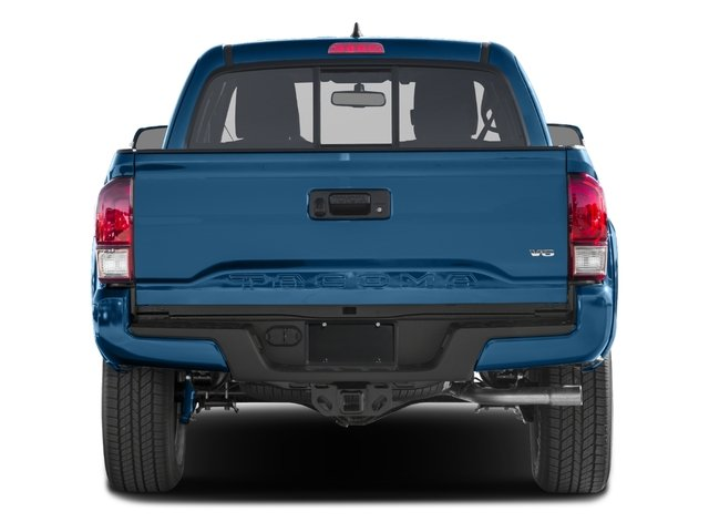 2016 Toyota Tacoma Prices and Values TRD Sport Extended Cab 2WD V6 rear view