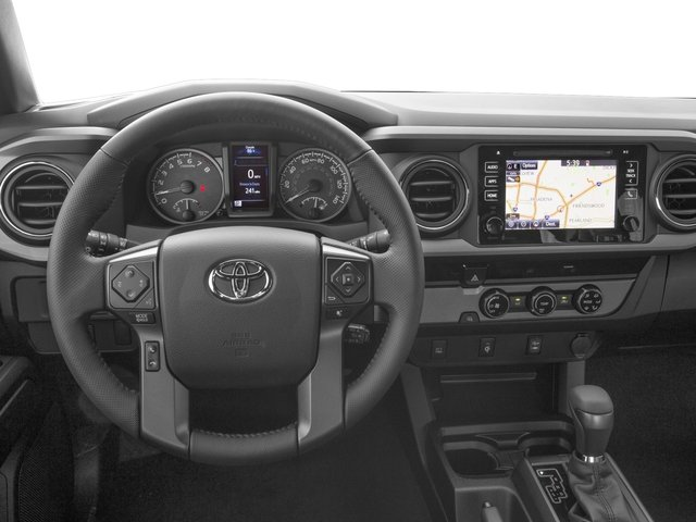 2016 Toyota Tacoma Prices and Values TRD Sport Extended Cab 2WD V6 driver's dashboard