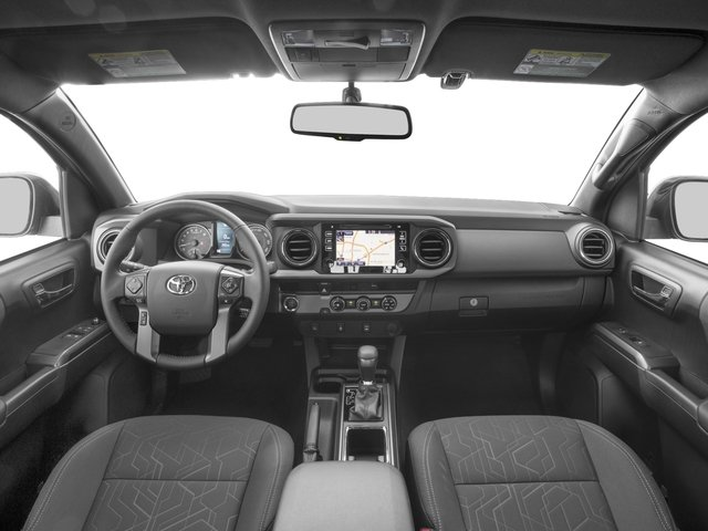 2016 Toyota Tacoma Prices and Values TRD Sport Extended Cab 2WD V6 full dashboard