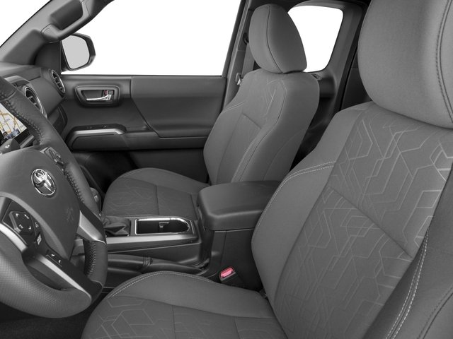 2016 Toyota Tacoma Prices and Values TRD Sport Extended Cab 2WD V6 front seat interior