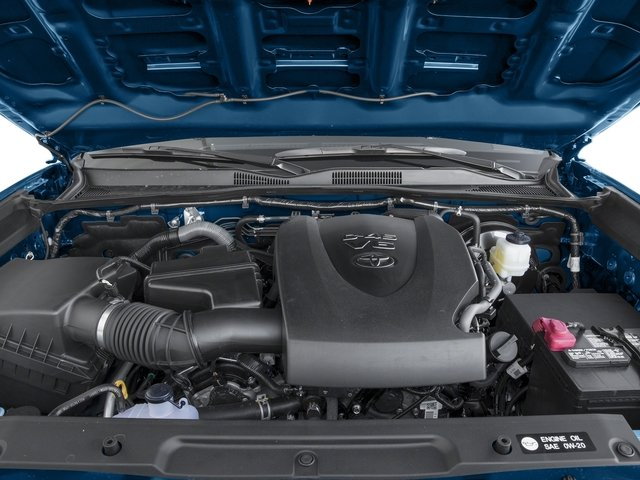 2016 Toyota Tacoma Prices and Values TRD Sport Extended Cab 2WD V6 engine