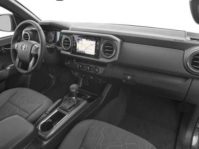 2016 Toyota Tacoma Prices and Values TRD Sport Extended Cab 2WD V6 passenger's dashboard