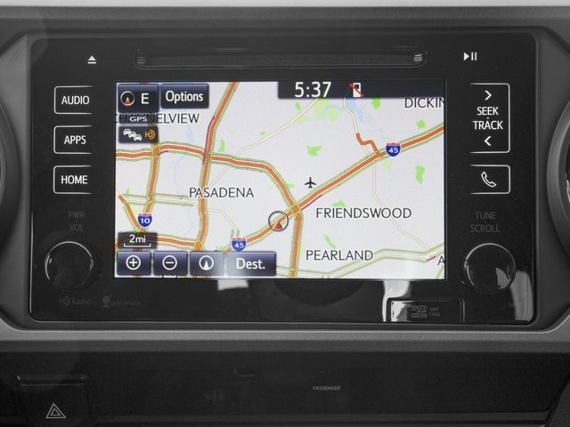 2016 Toyota Tacoma Prices and Values TRD Sport Extended Cab 2WD V6 navigation system