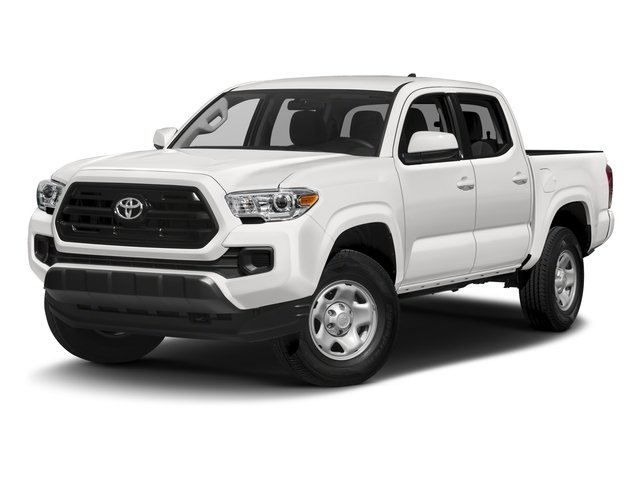 2016 Toyota Tacoma Pictures Tacoma SR Crew Cab 4WD V6 photos side front view