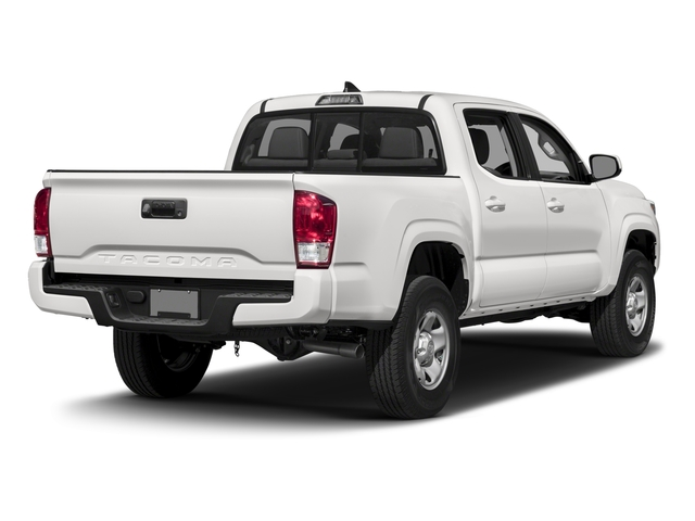 2016 Toyota Tacoma Pictures Tacoma SR Crew Cab 4WD V6 photos side rear view