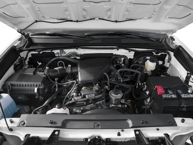 2016 Toyota Tacoma Pictures Tacoma SR Crew Cab 4WD V6 photos engine