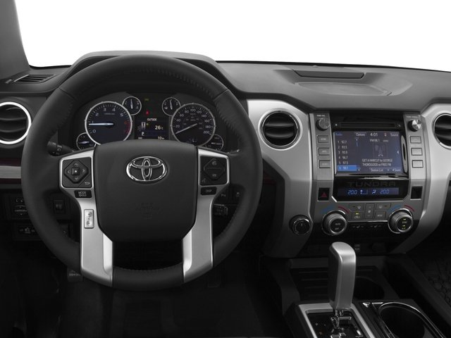 2016 Toyota Tundra 2WD Truck Prices and Values Limited CrewMax 2WD driver's dashboard