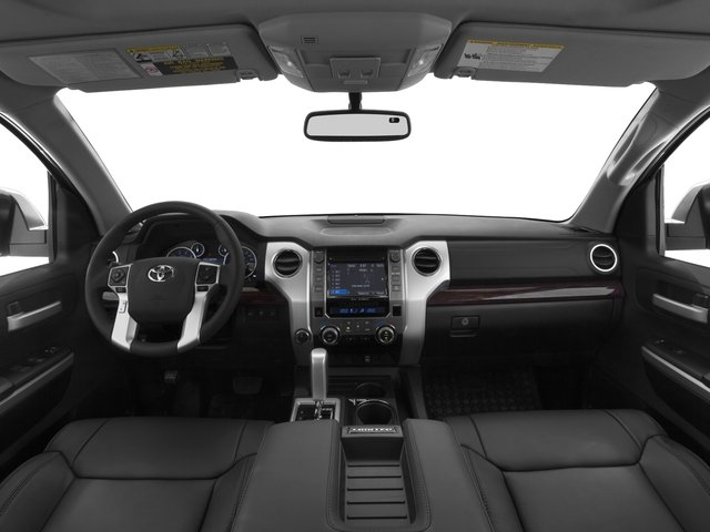 2016 Toyota Tundra 2WD Truck Prices and Values Limited CrewMax 2WD full dashboard