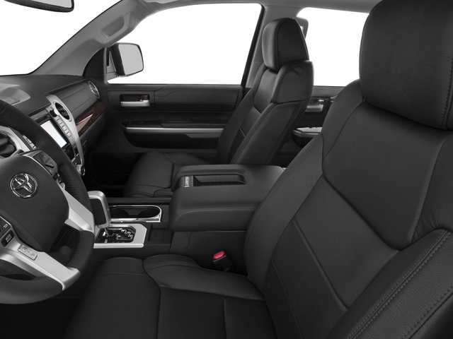 2016 Toyota Tundra 2WD Truck Prices and Values Limited CrewMax 2WD front seat interior
