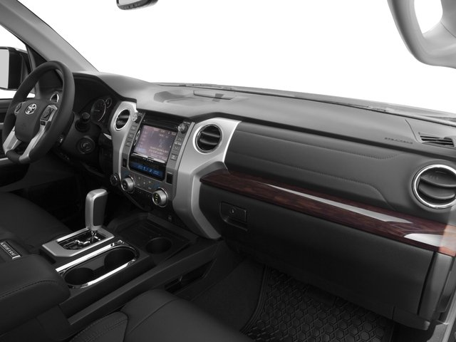 2016 Toyota Tundra 2WD Truck Prices and Values Limited CrewMax 2WD passenger's dashboard