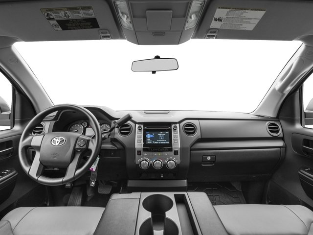 2016 Toyota Tundra 2WD Truck Prices and Values SR Double Cab 2WD full dashboard