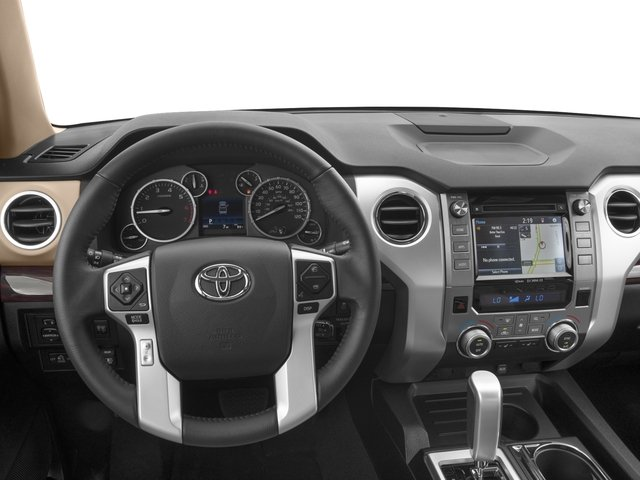 2016 Toyota Tundra 2WD Truck Prices and Values Limited Double Cab 2WD driver's dashboard