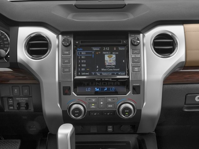2016 Toyota Tundra 2WD Truck Prices and Values Limited Double Cab 2WD stereo system
