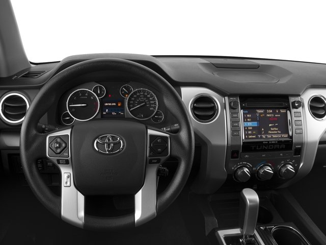 2016 Toyota Tundra 4WD Truck Prices and Values SR5 Double Cab 4WD driver's dashboard