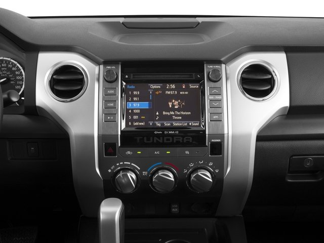 2016 Toyota Tundra 4WD Truck Prices and Values SR5 Double Cab 4WD stereo system