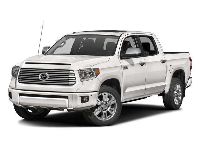 2016 Toyota Tundra 2WD Truck Pictures Tundra 2WD Truck Platinum CrewMax 2WD photos side front view