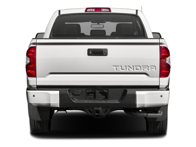 2016 Toyota Tundra 4WD Truck Prices and Values Platinum CrewMax 4WD rear view