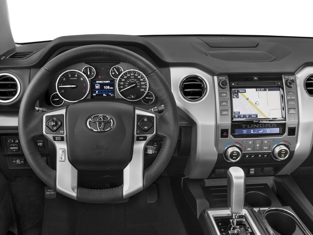 2016 Toyota Tundra 4WD Truck Prices and Values Platinum CrewMax 4WD driver's dashboard