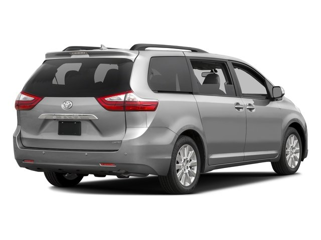 2016 Toyota Sienna Prices and Values Wagon 5D Limited AWD V6 side rear view