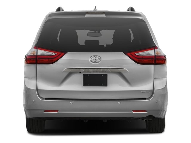 2016 Toyota Sienna Prices and Values Wagon 5D Limited AWD V6 rear view