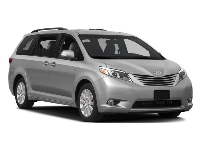 2016 Toyota Sienna Prices and Values Wagon 5D Limited AWD V6 side front view