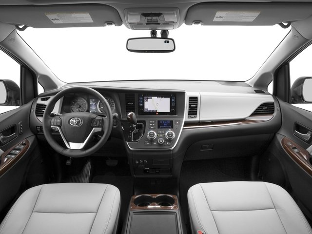 2016 Toyota Sienna Prices and Values Wagon 5D Limited AWD V6 full dashboard