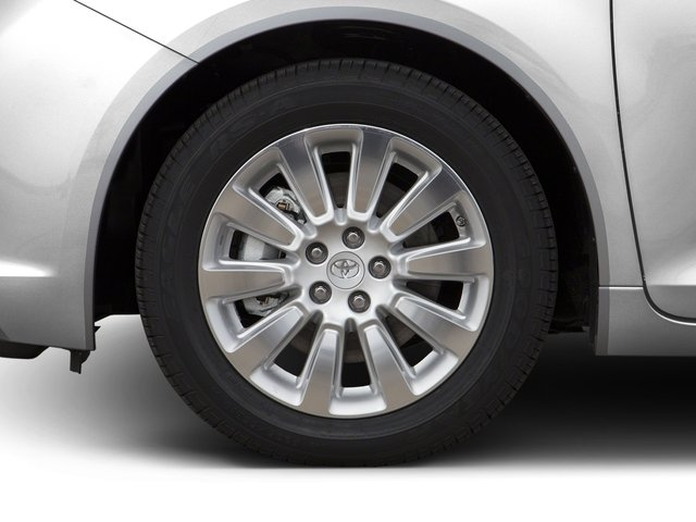 2016 Toyota Sienna Prices and Values Wagon 5D Limited AWD V6 wheel