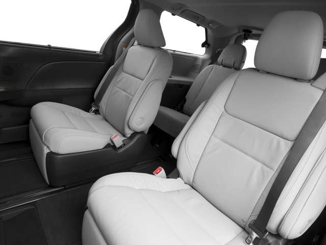 2016 Toyota Sienna Prices and Values Wagon 5D Limited AWD V6 backseat interior