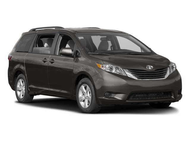 2016 Toyota Sienna Pictures Sienna Wagon 5D LE V6 photos side front view