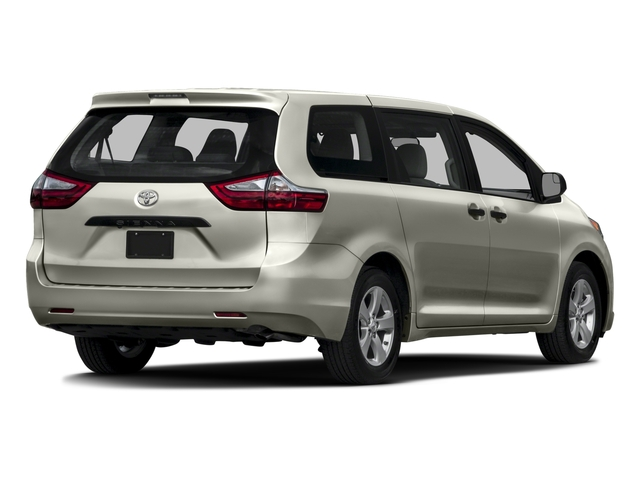 2016 Toyota Sienna Pictures Sienna Wagon 5D L V6 photos side rear view