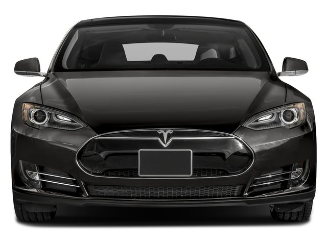 2016 Tesla Motors Model S Pictures Model S Sed 4D D Performance 90 kWh AWD Elec photos front view