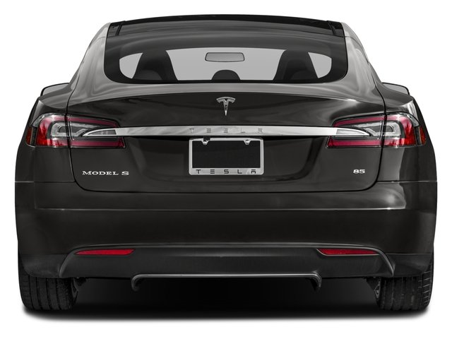 2016 Tesla Motors Model S Pictures Model S Sed 4D D Performance 90 kWh AWD Elec photos rear view
