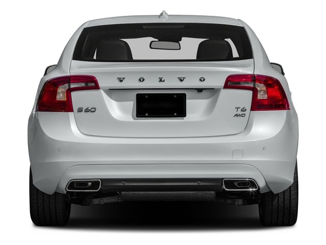 2016 Volvo S60 Prices and Values Sedan 4D T5 AWD I5 Turbo rear view