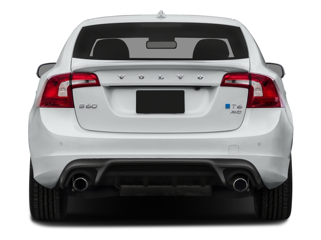 2016 Volvo S60 Prices and Values Sed T6 R-Design Platinum Drive-E AWD rear view
