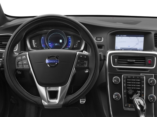 2016 Volvo S60 Prices and Values Sed T6 R-Design Platinum Drive-E AWD driver's dashboard