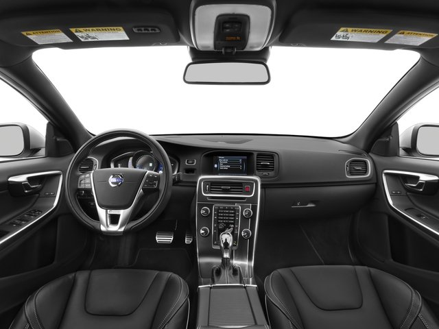 2016 Volvo S60 Prices and Values Sed T6 R-Design Platinum Drive-E AWD full dashboard
